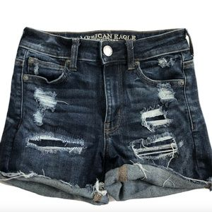 American Eagle Outfitters Women's Blue Jean Shorts